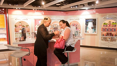 Benefit in Manchester Airport
